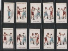 Tobacco cigarette cards Boxing 1924 lovely set of 25